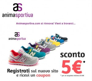 coupon registrazione